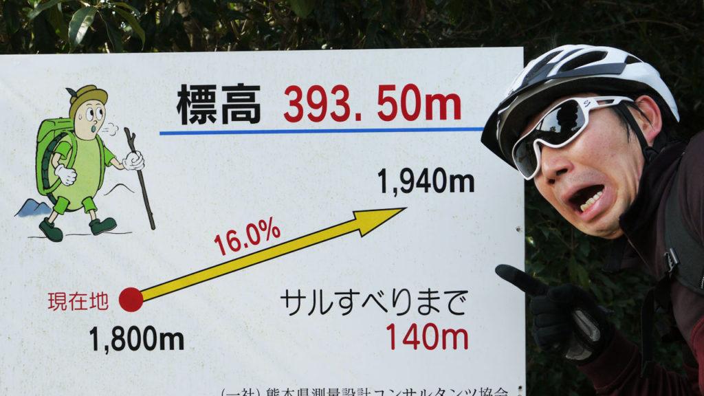 金峰山の登りで出てくる案内図