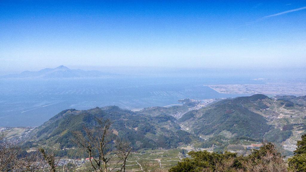 金峰山 ラスト500mからの眺め