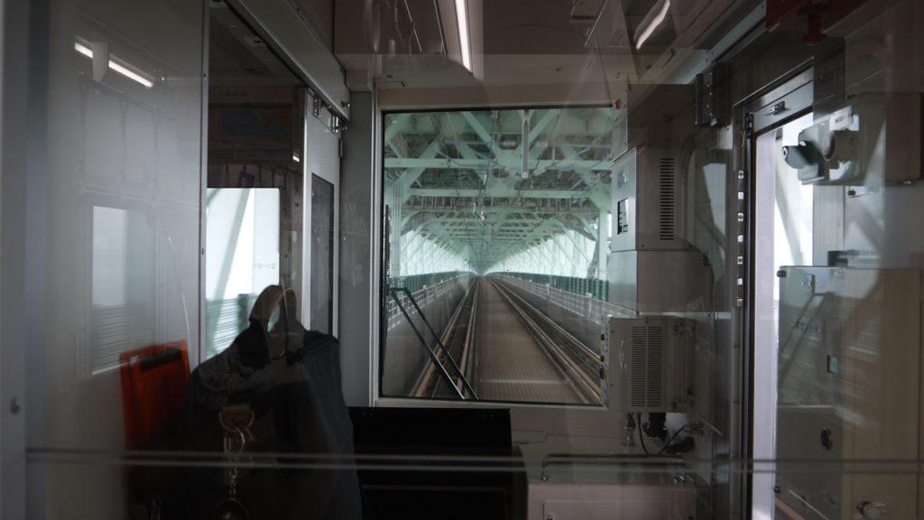 関空から泉佐野駅まで向かう途中