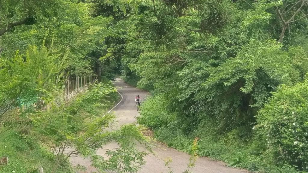 福岡ルート 休憩所からの撮影