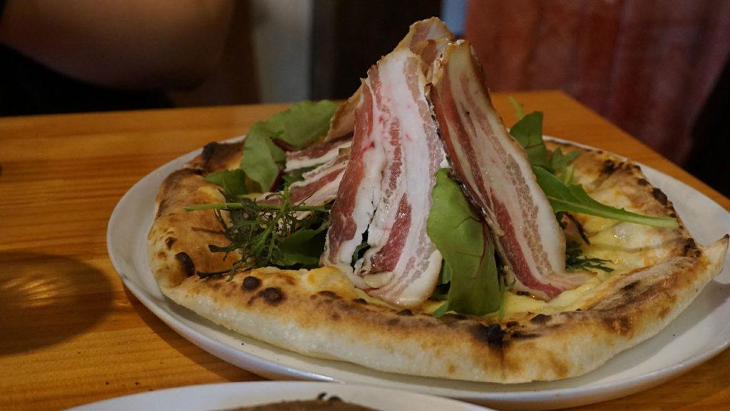 カンパーニャさんのピザ