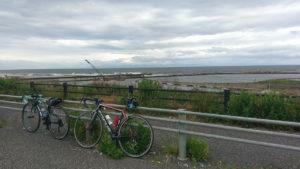 新潟シティライド 日本海側の景色
