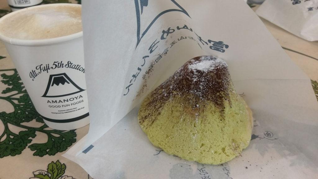 限定品らしい 富士山メロンパン。