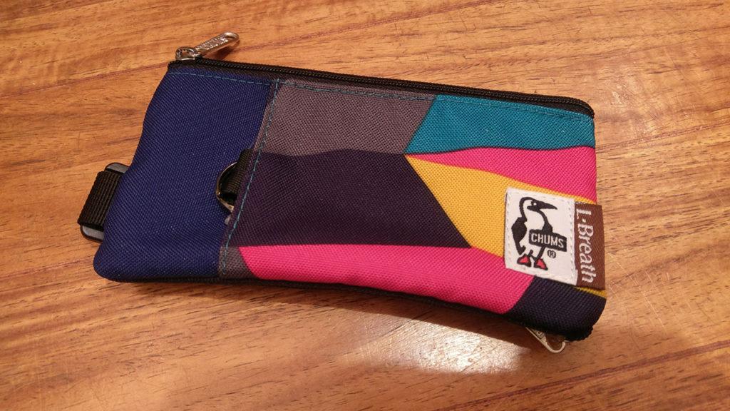 ロードバイクにオススメのCHUMSの財布