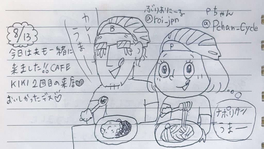 CAFE KIKIさんのノートへの漫画