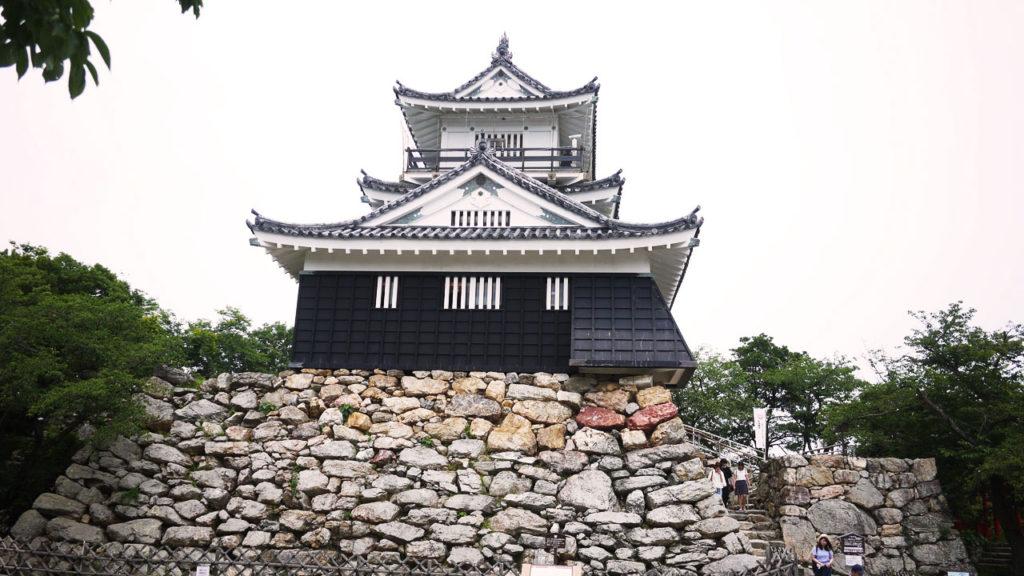 浜松城。中の展示物が素晴らしかったです。