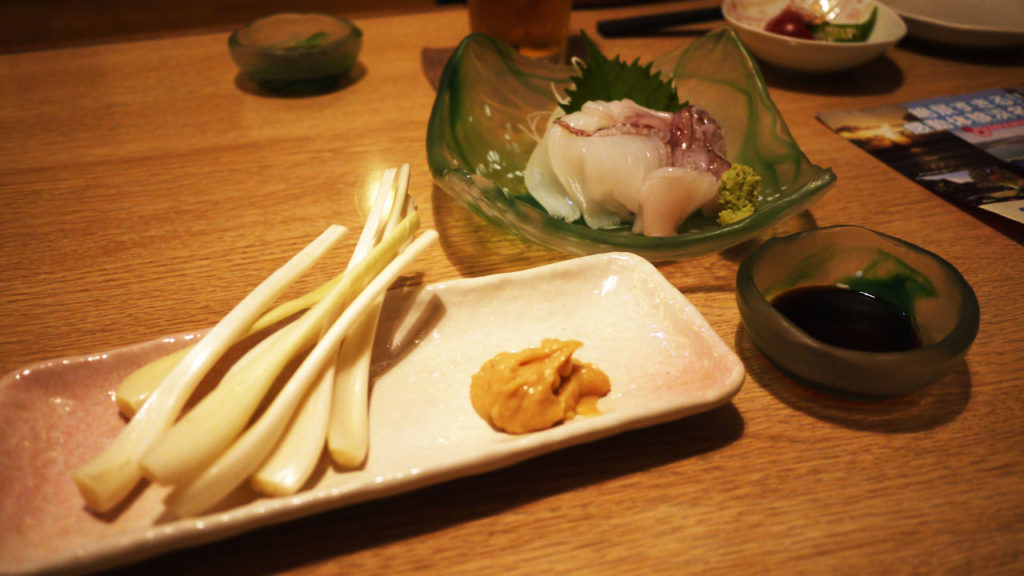 海産物や野菜が美味しい