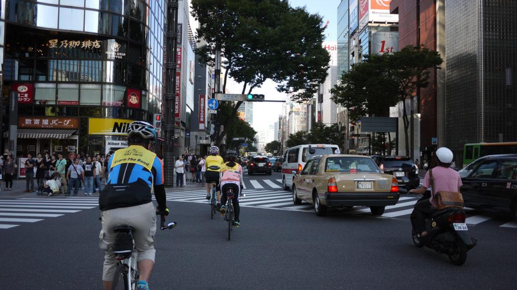 BIKE TOKYOにファミリーで参加したよ~