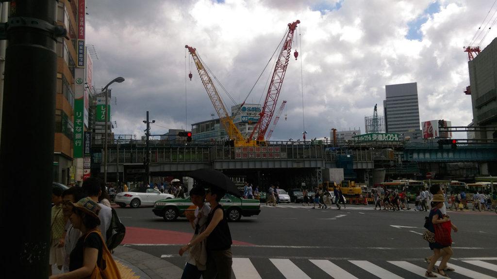 渋谷宮益坂口
