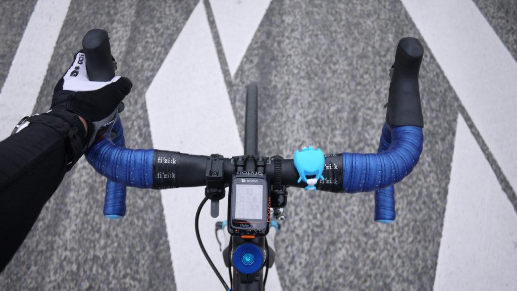 新しく導入したサイコン Bryton Rider 330